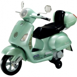 a vespa for the kids?  one of the times' best picks this week.  a battery operated mini-vespa.  for the stylish youngsters on your list.