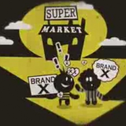A visual explanation of the old and new era of marketing, by the agency Scholz & Friends.