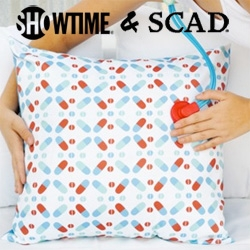 Showtime + Savannah College of Art and Design have a lovely collection of unexpected pillows, candles, mugs, coasters and more inspired by Weeds, Nurse Jackie, Californication, Tudors, and more...
