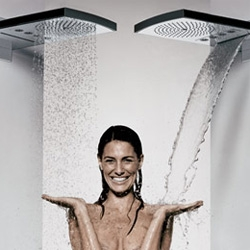 Wow. Showers change my life daily, and are the best place to get inspired... Hansgrohe announces the new Raindance Rainfall shower head.