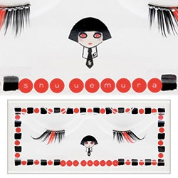 Shu Uemura's 2012 Holiday Season fun with Karl Lagerfeld