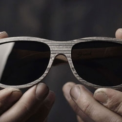 Shwood unveils a new line of eyewear crafted from reconstructed newspaper.  The proprietary process transforms newsprint back into its original log form.  Check the process video!