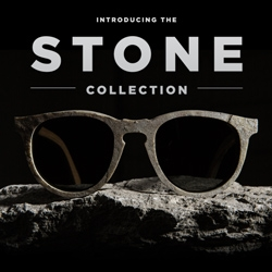 Shwood's new STONE Collection fuses birch wood and real slate for unique eyewear with one-of-a-kind texture and appearance.