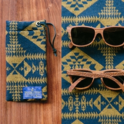 Portland brands Shwood and Pendleton have teamed up for a limited collection of wooden sunglasses.  Each frame features temples laser engraved with Pendleton's most iconic patterns.
