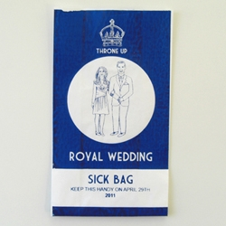 Not everyone in the UK is looking forward to the upcoming nuptials of Wills and Kate. For republicans everywhere, illustrator Lydia Leith has an essential Royal Wedding accessory.