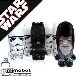 NOTCOT Exclusive! Here's the unveiling of the first in the 3rd series of Star Wars Mimobots to drop from mimoco!