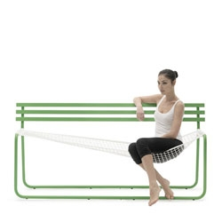 The Siesta Bench by Emanuele Magini for Campeggi.