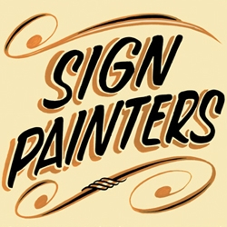 SIGN PAINTERS is both a documentary and a book featuring stories of more than two dozen traditional sign painters working in cities throughout the United States.