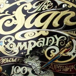 A new short length documentary gives a rare glimpse in to the life of a glass sign writer, David A. Smith. Documentary by Danny Cooke.