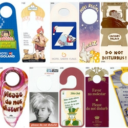 Awesome collection of do not disturb signs...