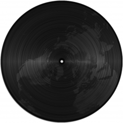 EARTH TO DISK [ART OF FAILURE - 2011] is a project that uses the earth elevation data. The height informations of the globe are analogically transposed on a 12 inch record.