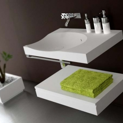 a simplistic...yet stunning... sink design -- i love the lines along the edges ~ by Alex Vitet