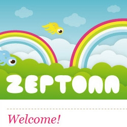 Brand new website for Netherlands based illustrative designer Zeptonn, featuring new work and colorful graphics!