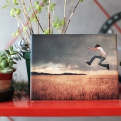ImageSnap - Ceramic tile, custom-printed with your images.