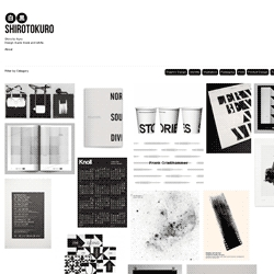Shirotokuro is a curated gallery of exquisite design and photography distilled to it's purest monochromatic elements of black and white.