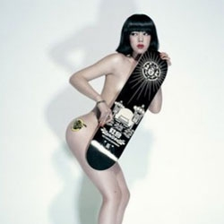 The goddesses of skateboard for ChenMan.