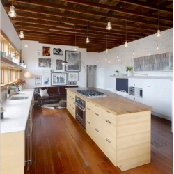 NYtimes capture a skateboarder's dream house in a slideshow of Jay Shapiro and Claire Bigbie's San Francisco (Noe Valley) Victorian house.