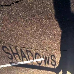 Peter Brings the Shadow to Life by Joe Pease features only the shadows of skaters.