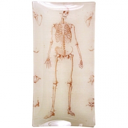 cool skeleton plate!! on sale too. by John Derian.