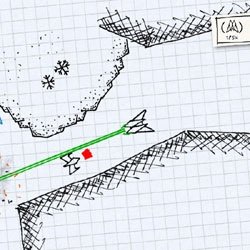 Sketchfighter is a game designed to look just like those little doodles of spaceships you used to make in the margins of your notebooks in school. Brilliant!