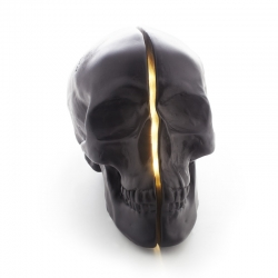 Skull LED Light Yorick Black