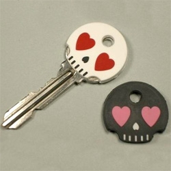 This kind of gives Skeleton Key a whole new meaning... Skull key covers...