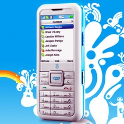 Skype Phone is launched on 2 November. It allows you to make Skype calls and send text messages. It is also amazingly cheap