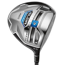 Taylor Made SLDR Driver Golf Club ~ the latest adjustable club has a 20-gram sliding weight on the sole.