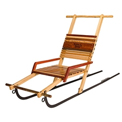 Mountain Boy Sleds - their Kicksleds look fun. (Wonder if our NOTpuppy, Bucky would pull me in one of these...)
