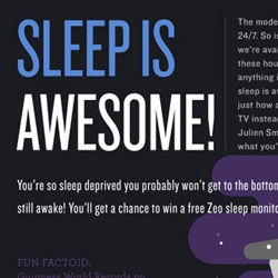 Just how bad is sleep deprivation for you? This infographic from Fast.Co Design takes a look at the data.