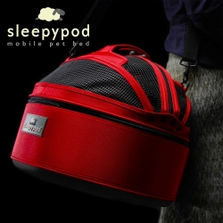 Sleepypod by Meowme is the ultimate environment for your pet.  It is an everyday pet bed, a stylish carrier, and a secure car seat.