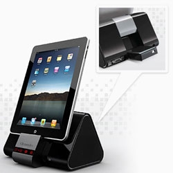 Wowwee Cinemin SLICE ~ iPhone/iPad docks right in to the adorable projector!