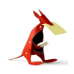 this week's slideshow features argentine designers, among others.  and this Pedro Reissig kangaroo desk organizer was too cute not to post.