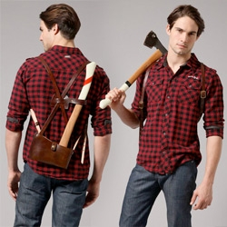 Best Made Co has branched out from designer Axes to an amazing leather Axe Sling. Quite the manly (fashion) accessory...