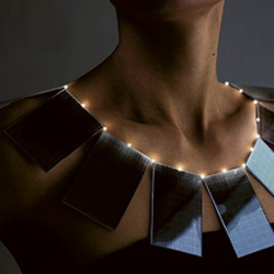Solar necklace.