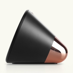 Aether Cone speaker is hardware for streaming music services. It connects to your home Wi-Fi and music service of choice, but without the need for another device.