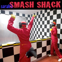 "Sarah's Smash Shack in san diego... because sometimes you just need to break something! Think they do birthday parties?... ""we recycle our broken bits through mosaic art programs."""