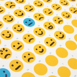 How Was Your Day? Calendar ~ where you fill in the emoticon of how your day was...