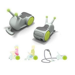 kids have it too easy.  make them vacuum as they play with these cute little snail busters.