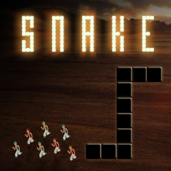 Watch SNAKE, play SNAKE! Watch the trailer for this year's most blood-curdling blockbuster, and experience the terror yourself with this terrifying game.