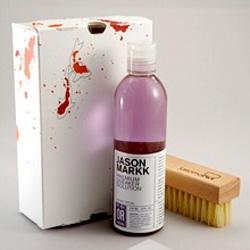 Jason Markk - Premium sneaker cleaner... premium packaging design! Lots of  hands on pics --