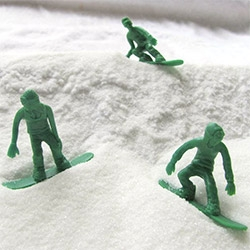 Toy Boarders now have a SNOW Series! Adorable little snow boarding toys!