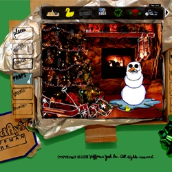 Hoffman Holiday Card - Fun snowman card creator, complete with some strange stuff to put on snowmen. Definitely a good way to waste a few minutes!