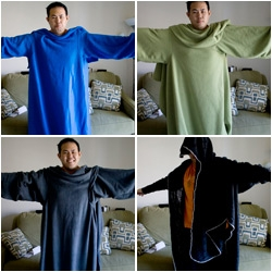 Hilarious article over at Gizmodo.. Snuggie vs. Slanket vs. Freedom Blanket vs. Blankoat (vs. a robe...)