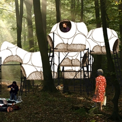 raumlaborberlin has designed their own mobile dream hotel for workshops, group exhibitions, symposions and festivals. now we are waiting for the perfect investor...