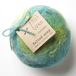 Fascinated by the idea of Felted Soap - by fiat luxe