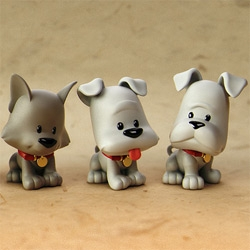 These little guys are some of the cutest examples of rapid prototyping i've seen yet! by Big Shot Toy Works