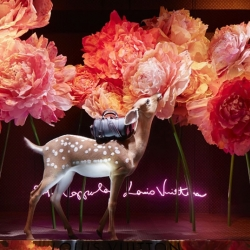 Sophia Coppola has designed a series of window displays for Paris Dept Store Le Bon Marché.