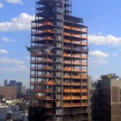 Fun time lapse video of the new Mondrian Soho being built!