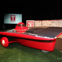 Students of University Twente are also going to streak across the Australian outback for this year's World Solar Challenge. With their new tilting solar car the 21revolution. Direct competition for the students from Delft, see post 22897